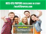 HCS 475 PAPERS Excellence In Study /hcs475papers.com