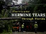 Hurricane Hermine tears through Florida