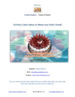 Order Special Cakes Online – 10 Special Cakes for Bangalore