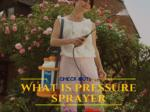 Electric Pressure Sprayer: Ease Your Job in a Matter of Few Minutes