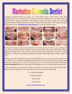 Manhattan Cosmetic Dentist
