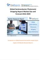 Global Semiconductor Photoresist Stripping Report-Market Size and Forecast 2020