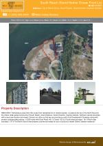 South Reach Grand Harbor Ocean Front Lot - Cayman Land Property For Sale