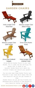 Garden Chair – Online in India at lowest price offer @ Wooden Street