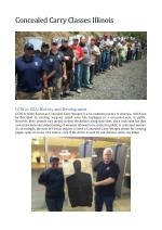 Concealed Carry Classes Illinois