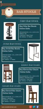 Bar Stool : Buy Bar Stools and Chairs Online India