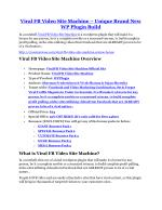 Viral FB Video Site Machine review-(SHOCKED) $21700 bonuses