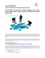 Global Silica Gel Desiccant Market Share | 2015 Industry Research Report By Hexa Reports