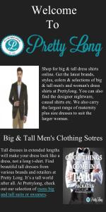 Big & Tall Men's Clothing Stores