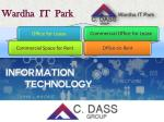 Wardha IT Park - Commercial Space for Rent