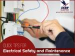 Electrical Safety and Maintenance Tips from the Electricians in KC