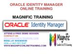 Oracle Identity Management Online Training