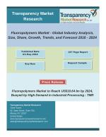 Fluoropolymers Market - Global Industry Analysis, Size, Share, Growth, Trends, and Forecast 2016 – 2024