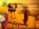 Rajasthan tourism package-Best Tourist Place in Rajasthan