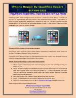 IPad/IPhone Repair NYC: Trust the Best for Your Phone