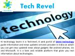 Latest Technology News and Information
