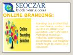 seoczar | Online Branding Agency India, Online Brand Management Services