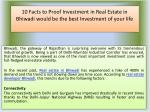 10 Facts to Proof Investment in Real Estate in Bhiwadi would be the best Investment of your life