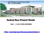 Godrej Properties New Project Noida - Godrej Properties Noida