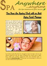 Slow Down the Ageing Clock with an Anti Aging Facial Massage
