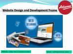 Web Design and Development Frome