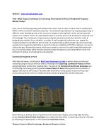 Upcoming Commercial and Residential Projects in Pune