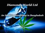 An Ideal Fashion Shop in Bangladesh