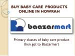 Buy baby care products online in howrah
