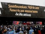 Smithsonian African American museum dedication