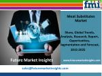 Meat Substitutes Market with Current Trends Analysis, 2015-2025