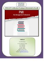 PMI ACP Certification Training in Hyderabad by ExcelR