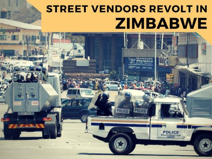 road sellers revolt in zimbabwe n.