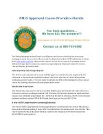 NMLS Approved Course Providers Florida