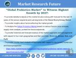 """Probiotics Market Witness Highest Growth by 2027."