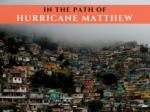 In the path of Hurricane Matthew