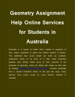 What Is The Ways to work out Geometry assignments?
