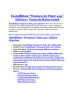Instaffiliate 40s Women Edition review & bonus - I was Shocked!