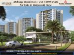 Melange Residences : 2 BHK Flats for Sale in Hinjewadi Pune