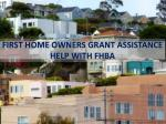 First Home Owners Grant Assistance Guide Help with FHBA