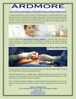 Sports Injuries Fractures in Singapore – Call Orthopaedic Surgeons at Ardmore Orthopaedic Clinic
