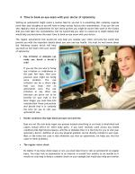 Time to book an eye exam with your doctor of optometry