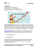 Free Nifty Future Tips and Equity Market Tips