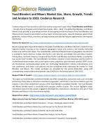 Food Blenders and Mixers Market Size, Share, Growth, Trends and Analysis to 2023: Credence Research