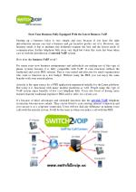 Start Your Business Fully Equipped With the Latest Business VoIP