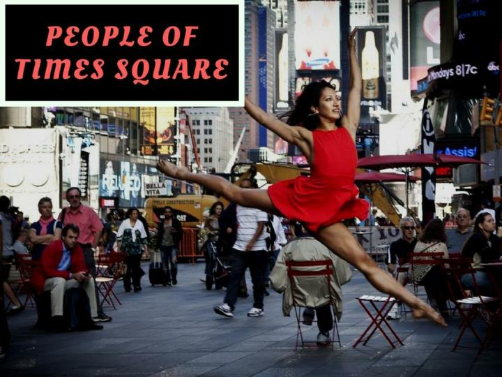 People of Times Square