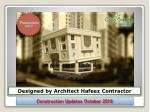 Casa Greens Exotica Construction Update for Month of October 2016