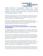 Electronic Cartography Market Share, Growth, Opportunity And Outlook To 2016