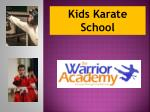 Kids Karate School Near Around You