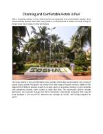 Charming and Comfortable Hotels in Puri