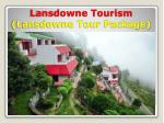 Lansdowne Tour Package from Delhi